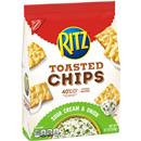 Nabisco Ritz Toasted Chips Sour Cream and Onion
