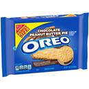 Nabisco Oreo Chocolate Peanut Butter Pie Sandwich Cookies Family Size
