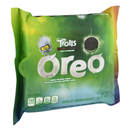 Oreo Trolls World Tour Green Colored Creme Chocolate Sandwich Cookies