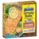 Gorton's Simply Bake Roasted Garlic & Butter Salmon Fillets 2Ct