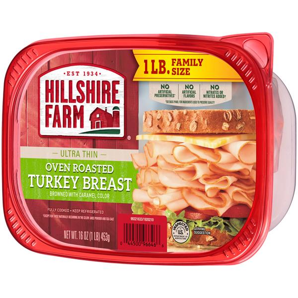 Hillshire Farm Deli Select Family Size Oven Roasted Turkey Breast