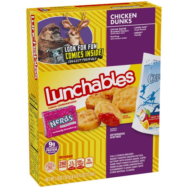 Lunchables Chicken Lunchables Chicken Dunks Lunch