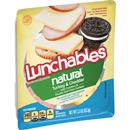Lunchables Natural Turkey & Cheddar Lunch Combinations 3.3 oz. Tray