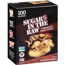 Sugar In The Raw Natural Cane Turbinado Sugar 100 Packets