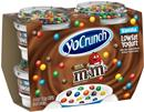 YoCrunch Vanilla Lowfat Yogurt with M&M's Chocolate Candies 4Pk