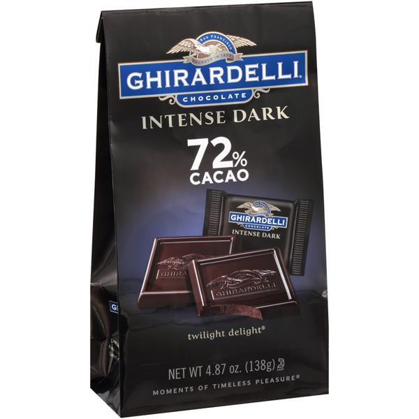Ghirardelli 72 Cacao Twilight Delight Intense Dark