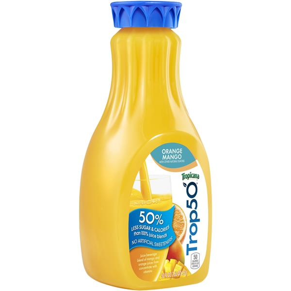 Tropicana Trop50 Orange Mango Juice