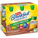 Carnation Breakfast Essentials High Protein Rich Milk Chocolate Complete Nutritional Drink, 6-8 fl oz Bottles