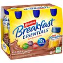 Carnation Breakfast Essentials Rich Milk Chocolate Nutritional Drink, 6-8 fl oz Bottles