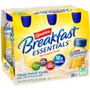 Carnation Breakfast Essentials Classic French Vanilla Complete Nutritional Drink, 6-8 fl oz Bottles