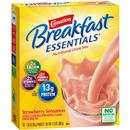 Carnation Breakfast Essentials Strawberry Sensation Complete Nutritional Drink, 10-1.26 oz Packets