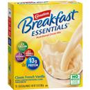 Carnation Breakfast Essentials Classic French Vanilla Complete Nutritional Drink 10Ct Packets
