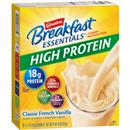Carnation Breakfast Essentials High Protein Classic French Vanilla Mix, 8-1.27 oz Packets