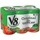 V8 Original 100% Vegetable Juice 6Pk Cans