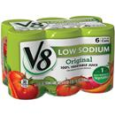 V8 Original Low Sodium 100% Vegetable Juice 6-Pk Cans