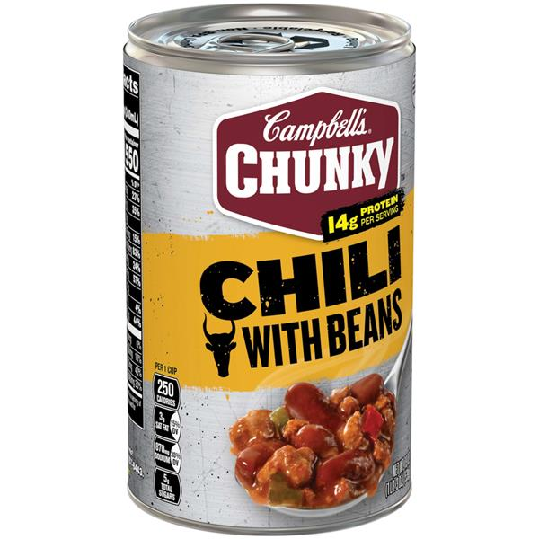 Campbell's Chunky Chili with Bean Roadhouse
