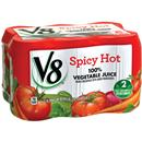 V8 Spicy Hot 100% Vegetable Juice 6Pk
