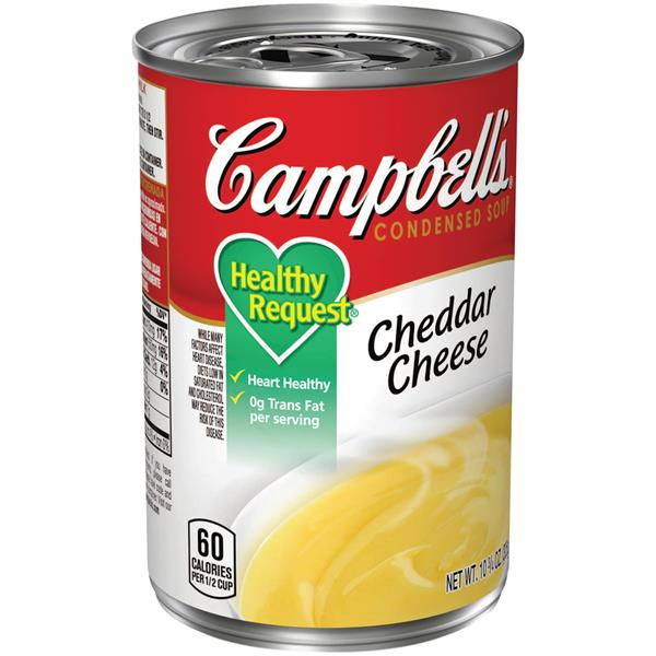 Campbell's Healthy Request Cheddar Cheese Condensed Soup