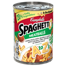 Campbell's SpaghettiOs A to Z's with Meatballs