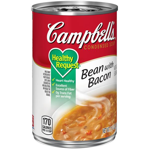 Campbell's Condensed Healthy Request Bean with Bacon Soup