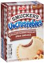 Smucker&#39s Uncrustables Chocolate Flavored Hazelnut Spread Sandwich 4Ct
