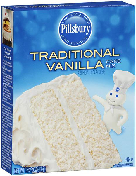 Vanilla Cake Mix Nutrition Facts