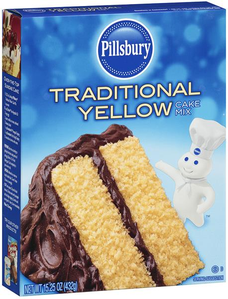 Pillsbury Yellow Cake Mix Nutrition