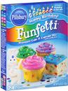 Pillsbury Happy Birthday! Funfetti Premium Cake & Cupcake Mix with Candy Bits