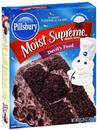 Pillsbury Moist Supreme Devil&#39s Food Premium Cake Mix