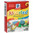 McCormick Assorted Food Colors & Egg Dye 4 Pack