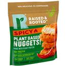 Raised & Rooted Spicy Nuggets Made with Plants