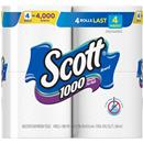 Scott 1000 Sheets Per Roll Unscented Bathroom Tissue