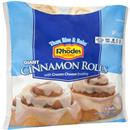 Rhodes Bake-N-Serv Giant Cinnamon Rolls with Cream Cheese Frosting 6Ct