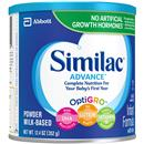 Similac Advance Infant Formula with Iron Milk Based Powder