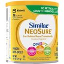 Similac NeoSure Milk Based Powder Infant Formula with Iron