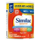 Similac Sensitive for Fussiness & Gas Powder Infant Formula with Iron