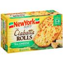 New York Brand Olde World Ciabatta Rolls with Real Cheese 6Ct