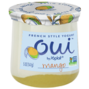 Oui Yogurt, Mango, French Style