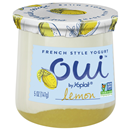 Oui Yogurt, French Style, Lemon