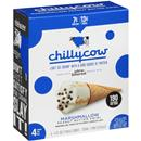 Chilly Cow Marshmallow Peanut Butter Swirl Cone 4pk