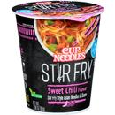 Nissin Cup Noodles Stir Fry Sweet Chili Flavor Asian Noodles in Sauce