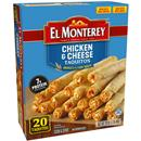 El Monterey Chicken & Cheese Taquitos 21Ct