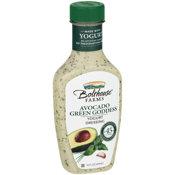 Bolthouse Farms Yogurt Dressing Avocado Green Goddess | Hy-Vee
