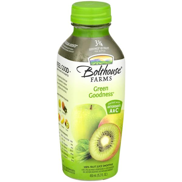 Bolthouse Farms Green Goodness 100% Fruit Juice Smoothie