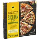 California Pizza Kitchen Crispy Thin Crust Sicilian Recipe Pizza