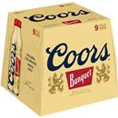Coors Banquet Beer 9 Pack