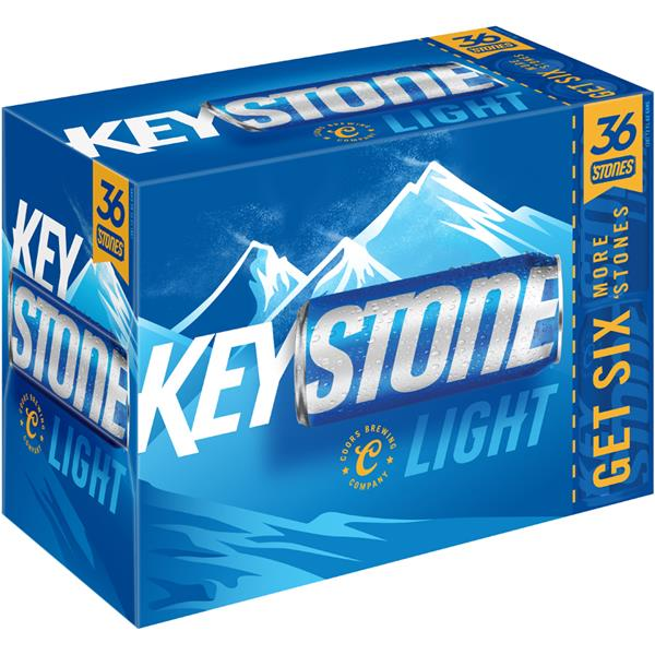 Keystone Light Beer 36pk Hy Vee Aisles Online Grocery