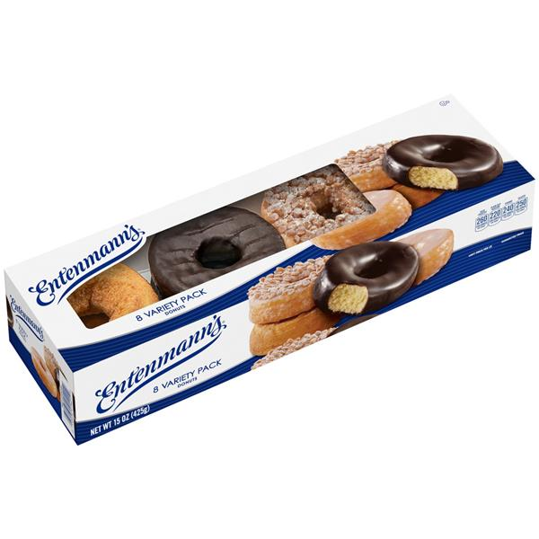 Entenmann's Variety Pack Donuts 8CT