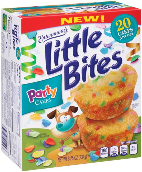 Entenmanns Little Bites Party Cakes 20 Count