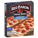 Red Baron Singles French Bread Pepperoni Pizzas 2Ct